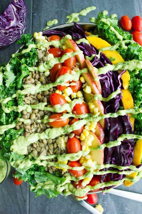 Lentil Detox Salad by Mexican Style Lentil Detox Salad Two Purple Figs