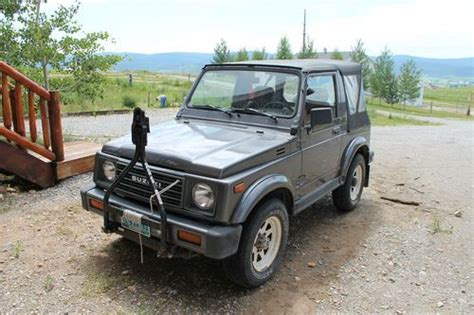 Suzuki Wrecker Purchase New 1987 Suzuki Samurai 4x4 Diesel 2 2 Mercedes