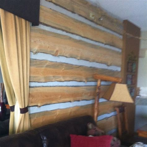 live edge siding for accent wall 39 best everlog concrete log siding images on