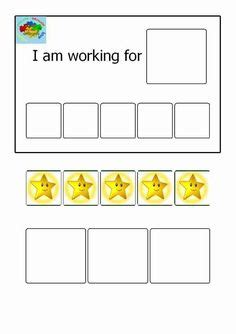 printable reward charts autism behavior chart reward chart autism visual aid behavior
