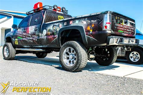 survival truck gear apocalypse truck wrap vehicle wrapping