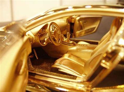 Gold Bugatti Cost by 24k Gold Bugatti Veyron Limited Edition