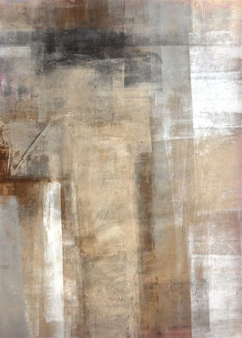 painting greys acrylic abstract art painting white grey brown and black