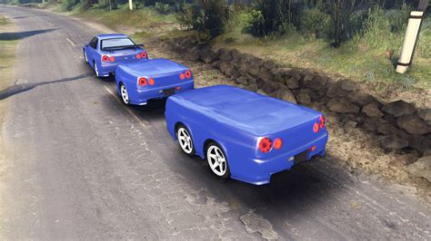 tuned r34 nissan skyline r34 gt r nismo z tune pour spin tires