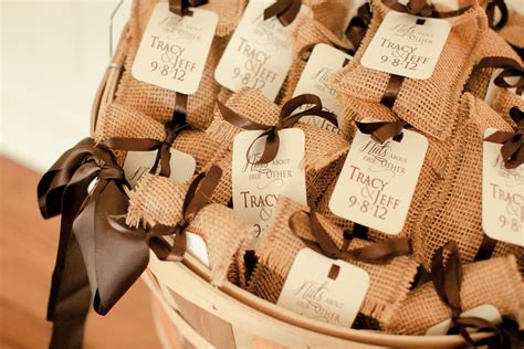 burlap themed wedding rustic wedding chic