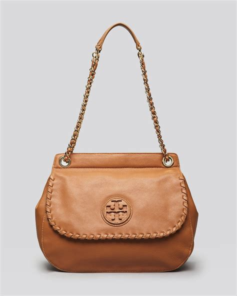 Burch Saddle Tote Bag burch shoulder bag marion saddle bag in brown lyst