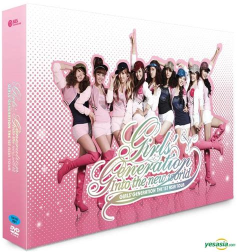 Generation The 1st Asia Tour Into The New World yesasia generation the 1st asia tour into the new world 2 dvd photobook poster