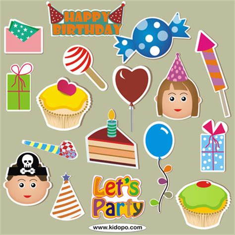 printable stickers for birthday free happy kids printable birthday stickers