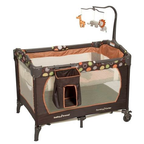 Play Yard With Changing Table Baby Trend Playard Safari Kingdom Best Play Yard Bassinet Playpen Cha