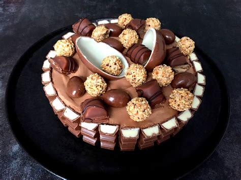kinderschokolade kuchen rezept himmlische torte mit kinderschokolade
