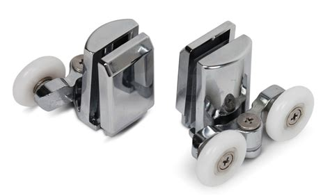Shower Door Rollers Uk Door Runners 4 X Top Bottom Butterfly Shower Door Rollers Wheels Set Zinc Alloy