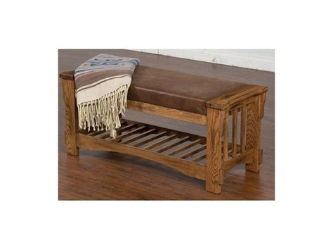 Living Room Bench With Cushion Designs Living Room Sedona Bench With Cushion Seat