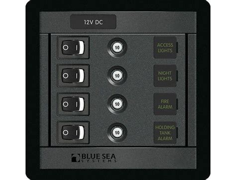 blue sea   position circuit breaker switch panel  mpn  switches  switch