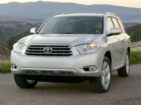 Toyota Highlander 2008 Price 2008 Toyota Price Quote Buy A 2008 Toyota Highlander