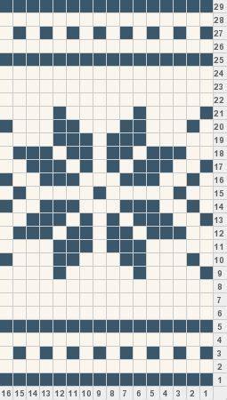 snowflake pattern knitting chart snowflake crochet graph good for borders crochet