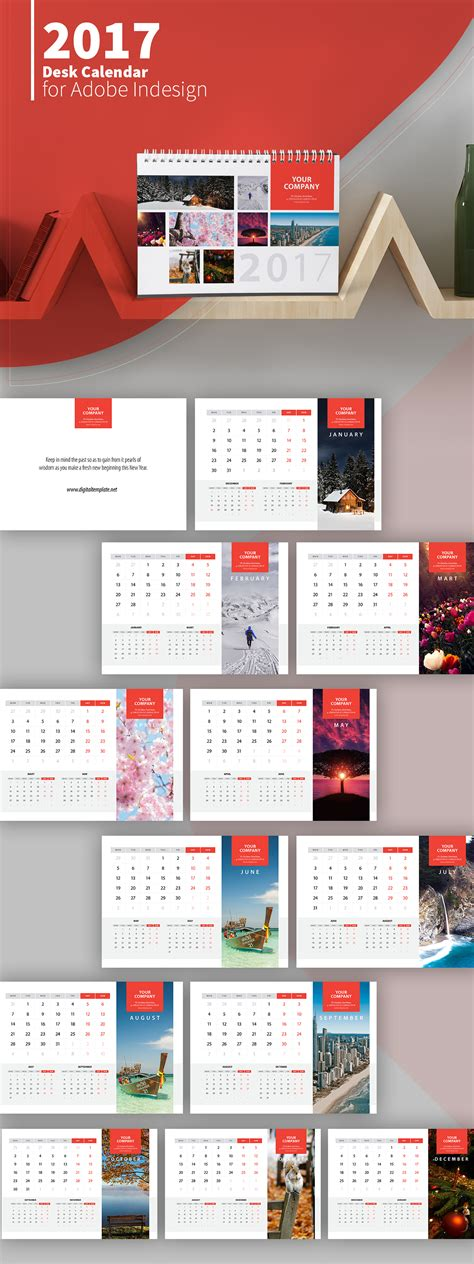 photoshop birthday calendar template freebie 2017 desk calendar template on behance