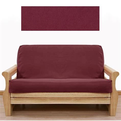 burgundy futon cover burgundy futon cover