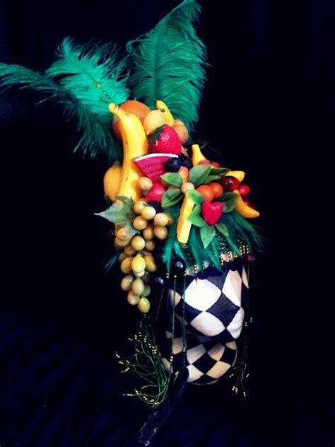fruit headdress fruit hat headress miranda multicolored