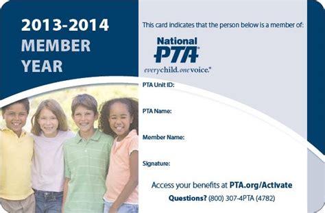 pta membership card template california 24 best images about pta membership ideas incentives