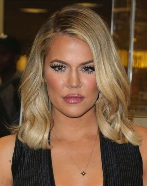 khloe kardashian s new lob 332 best images about hairstyles hair color hair cuts on
