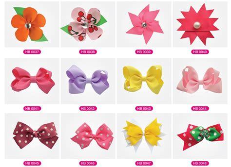 Different Types Of Hair Bows by Organza Ribbon Hairbows Sheer Ribbon Hair Buy