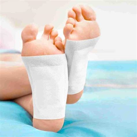 Leg From Detox by Sleeptox Detox Foot Patches Cleanse Purify At