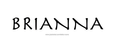 tattoo name brianna brianna name tattoo designs