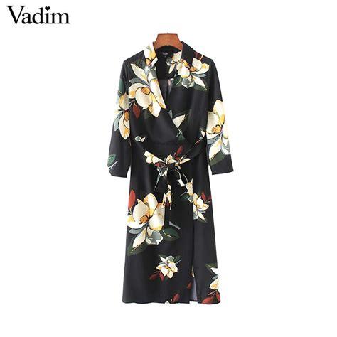aliexpress vadim aliexpress com buy vadim women vintage v neck floral