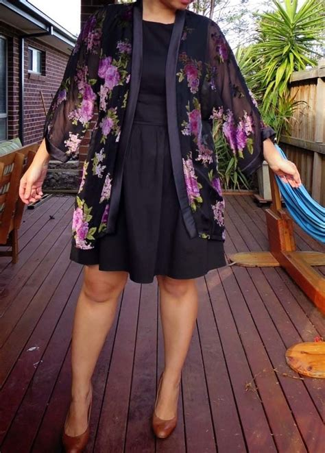 pattern runway kimono dress review new look 6072 workroom from project runway misses kimono