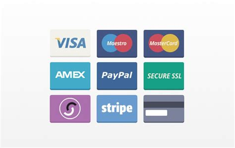 Paying Credit Card With Gift Card - free payment method credit card icon set