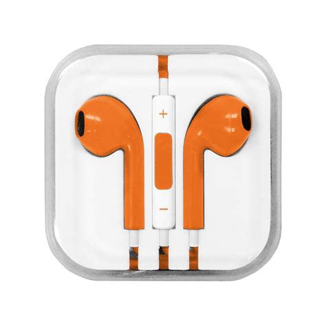 colored apple colored apple iphone earpods earphones aux cord w