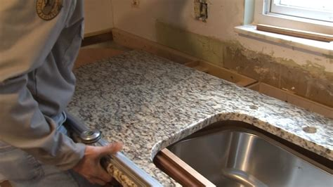 Installing Granite Countertop by How To Install Granite Countertops Pro Construction Guide