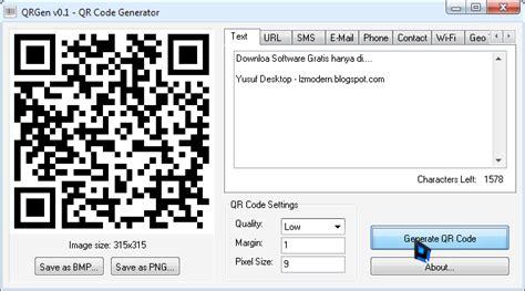 software untuk membuat qr barcode tutorial cara mudah membuat qr code untuk link text bbm v