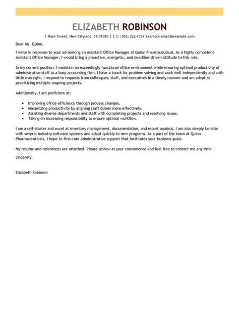 operations manager cover letter hashdoc