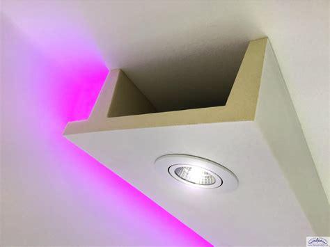led spotbeleuchtung deckenkasten als lichtleiste f 252 r spot led 11 f 252 r indirekte