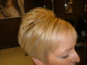 stacked bob haircut points in front short hair cut with lots of body trevor francis xpert