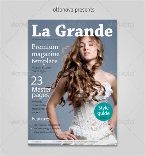 magazine cover template indesign 50 indesign psd magazine cover layout templates web