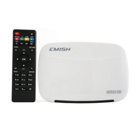 Android 4 4 Tv Box White emish x700 android 4 4 4 smart tv box w 8gb rom white
