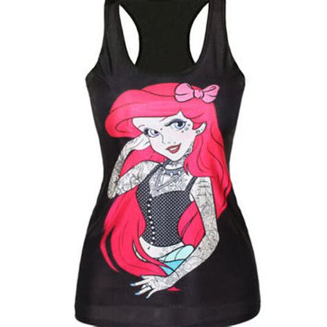 tattooed ariel shirt best disney mermaid t shirt products on wanelo