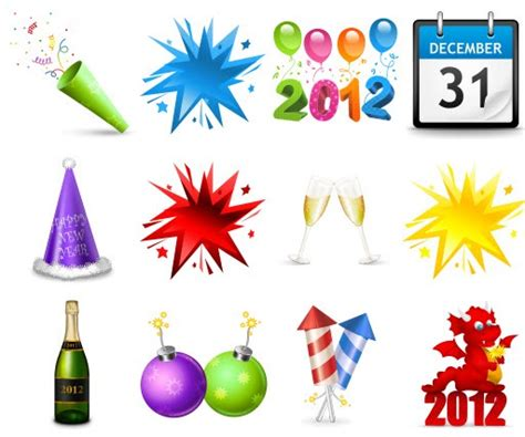happy new year icons image gallery happy new year icons
