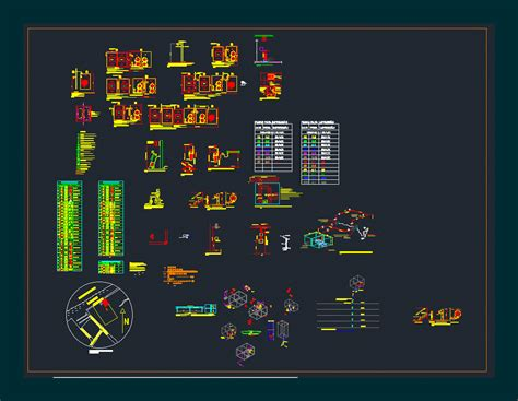 fire fighting dwg detail  autocad designs cad
