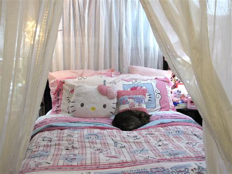 kitty bed hello kitty french bed outfit yay hello kitty stuff
