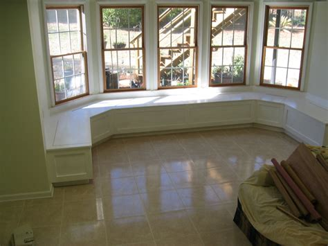 bay window seating large bay window seats by bearpaw homerefurbers com