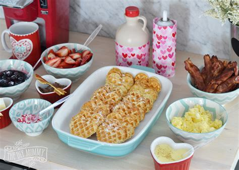 Waffle Bar Toppings by Valentine S Day Diy Waffle Bar The Diy