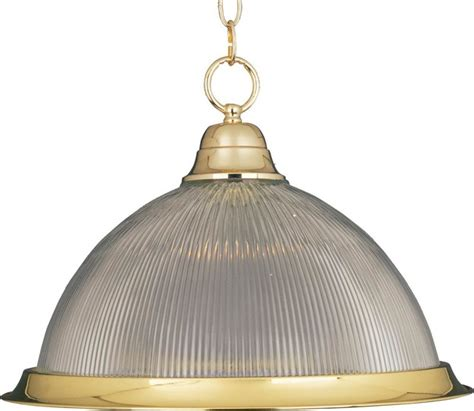 Traditional Pendant Lighting One Light Polished Brass Clear Glass Pendant Traditional Pendant Lighting By We Got Lites