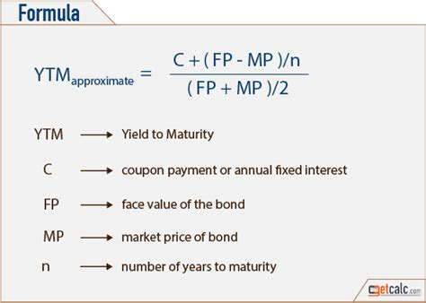 calculator yield to maturity ytm yield to maturity calculator