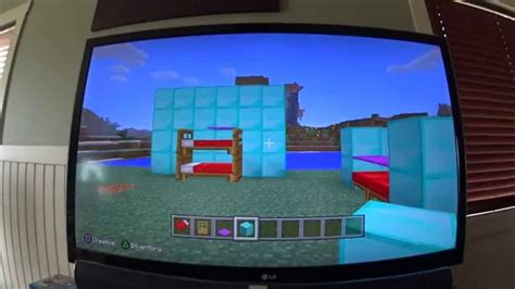 Minecraft Bunk Beds How To Make A Bunk Bed With A Blanket On Minecraft
