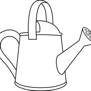 water pot coloring page watering can coloring pages