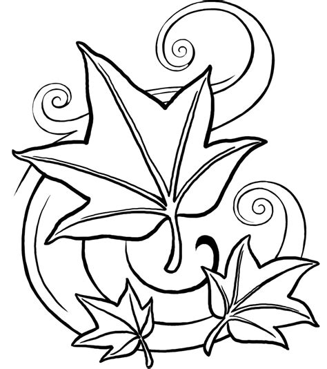 Fall Coloring Pages 10 Coloringpagehub Fall Coloring Pages For