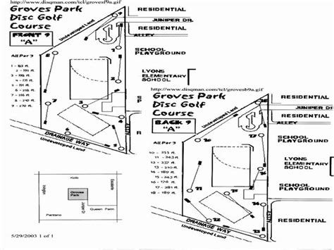 layout of tucson mall local courses tucson disc golf